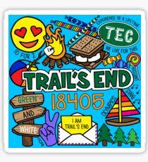 Trail's End Camp Sticker