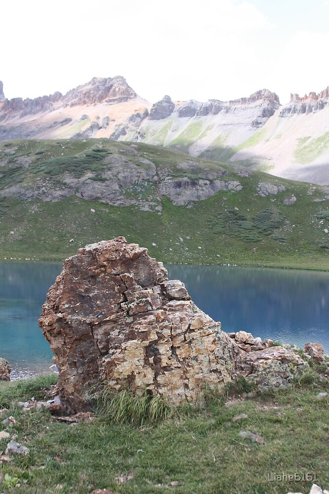 Boulder Outcropping at Upper Ice Lake by Liane6161