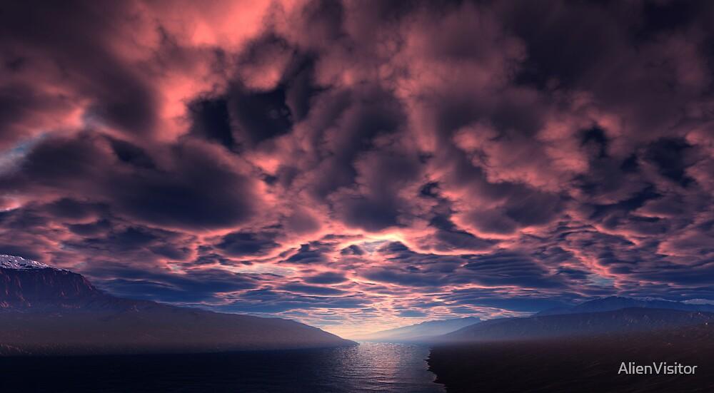 Crimson Dawn by AlienVisitor
