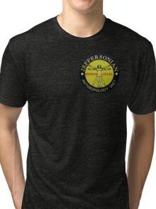 Jeffersonian logo-Bones Tri-blend T-Shirt