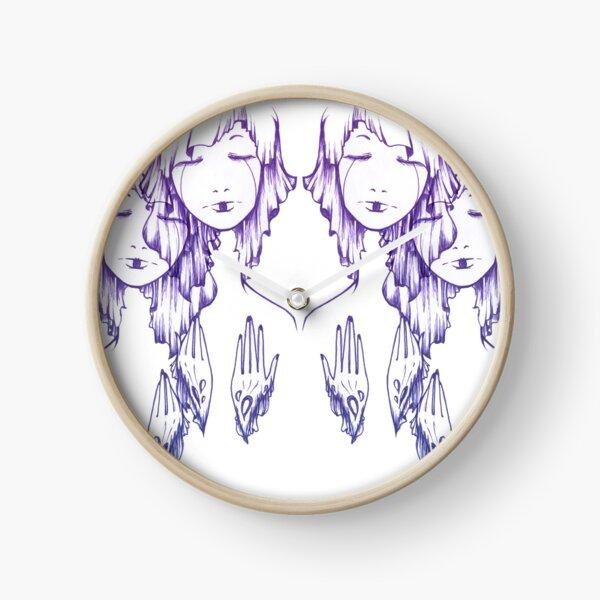 Sleeping Twins Clock