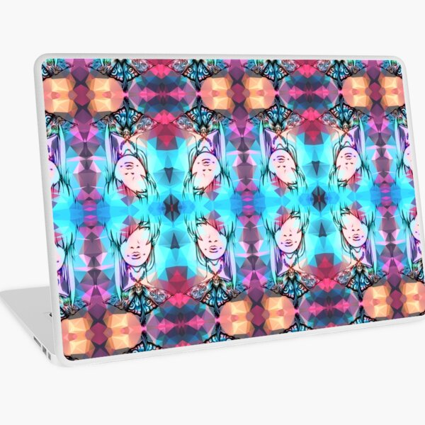 Down to the Last Minute Pattern Laptop Skin