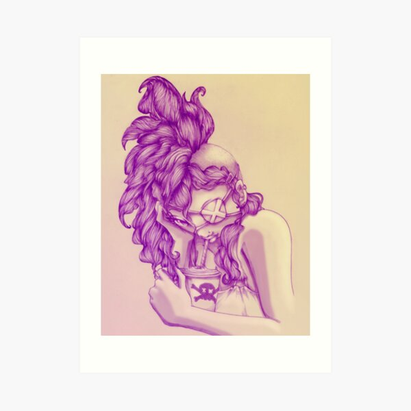 Poison Sip Art Print