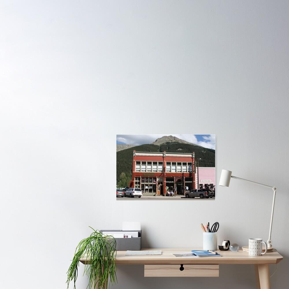 Old Teller House Hotel in Silverton Colorado Poster