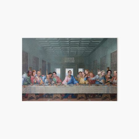The Last Supper Office Edition Art Board Print
