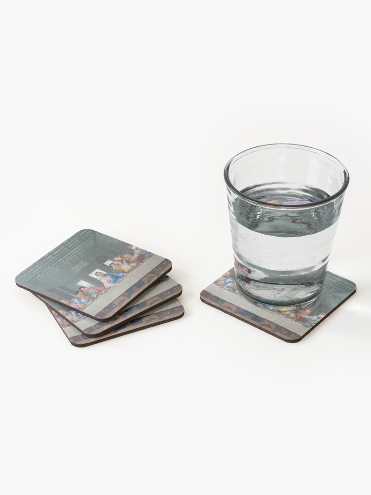 Alternate view of The Last Supper Office Edition Coasters (Set of 4)