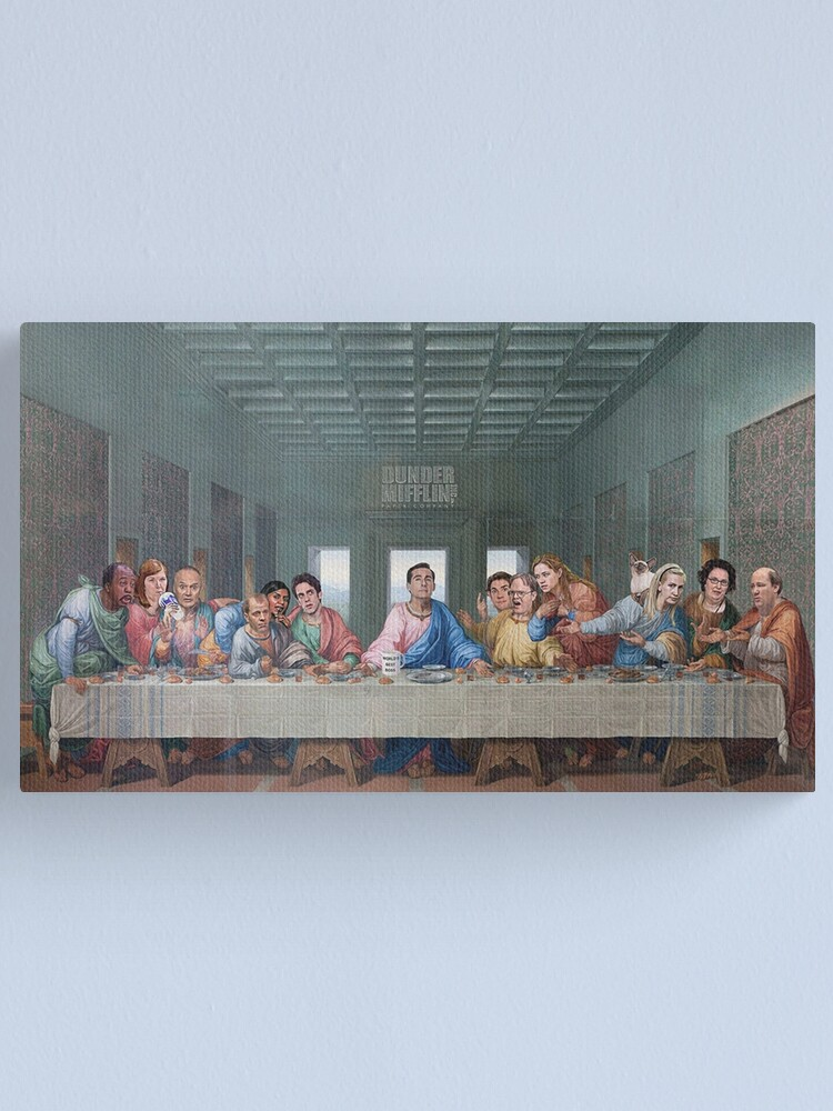 Alternate view of The Last Supper Office Edition Canvas Print