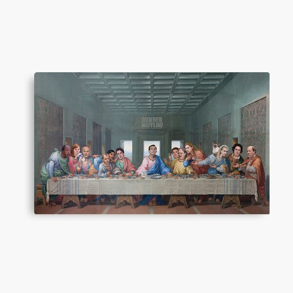 Édition Office The Last Supper Impression sur toile
