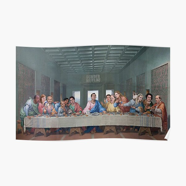 Édition Office The Last Supper Poster