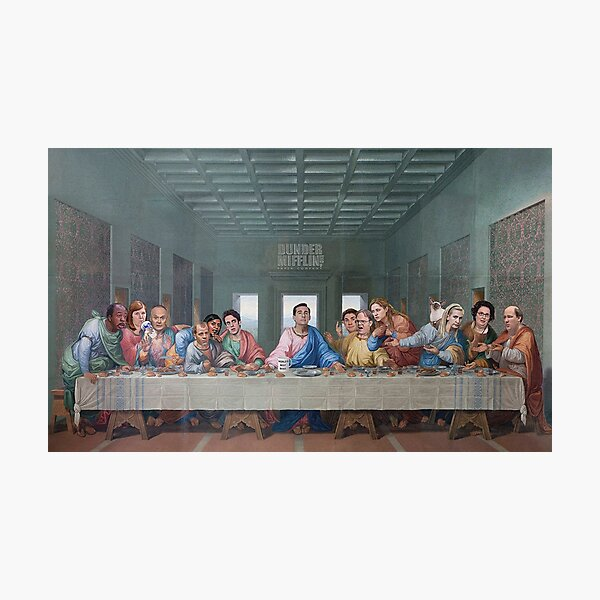 The Last Supper Office Edition Photographic Print