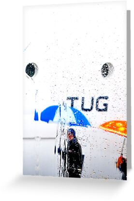 TUG       (CARD ONLY) by Thomas Barker-Detwiler