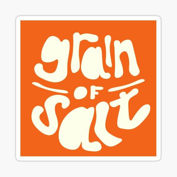 grain of salt icon Sticker