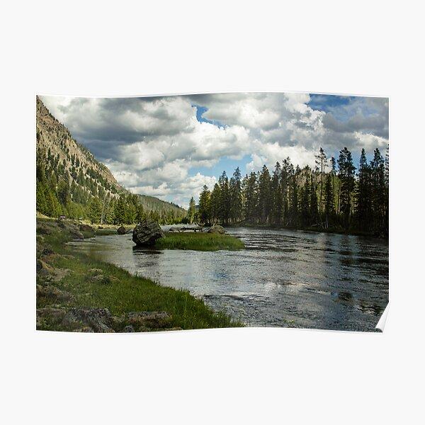 Snake River, Wyoming Poster