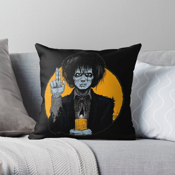 Halloween Saints: Billy Butcherson ALTERNATE Throw Pillow