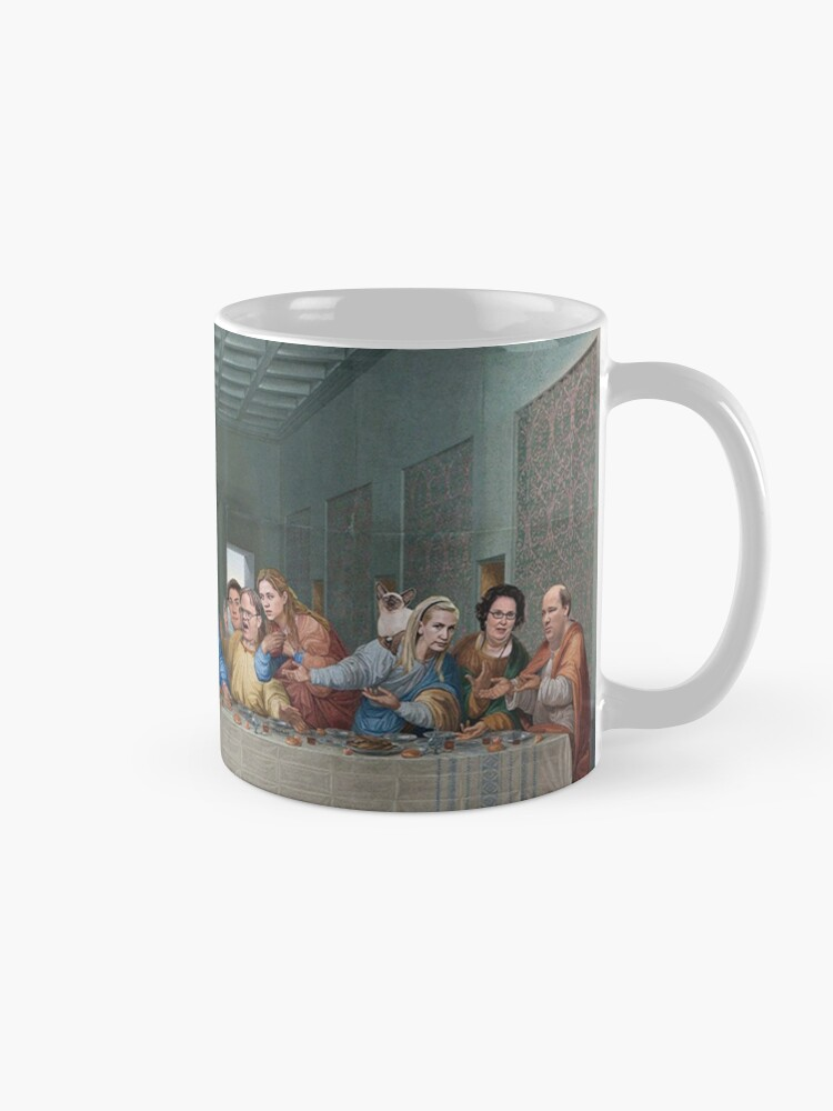 Alternate view of The Last Supper Office Edition Mug