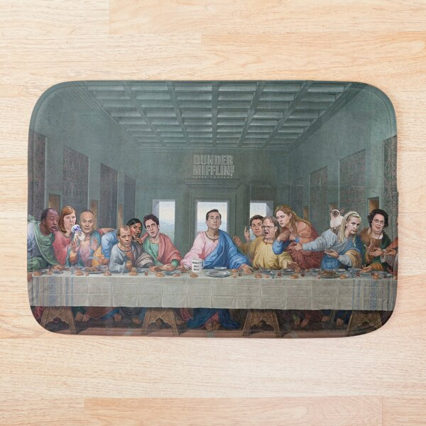 The Last Supper Office Edition Bath Mat