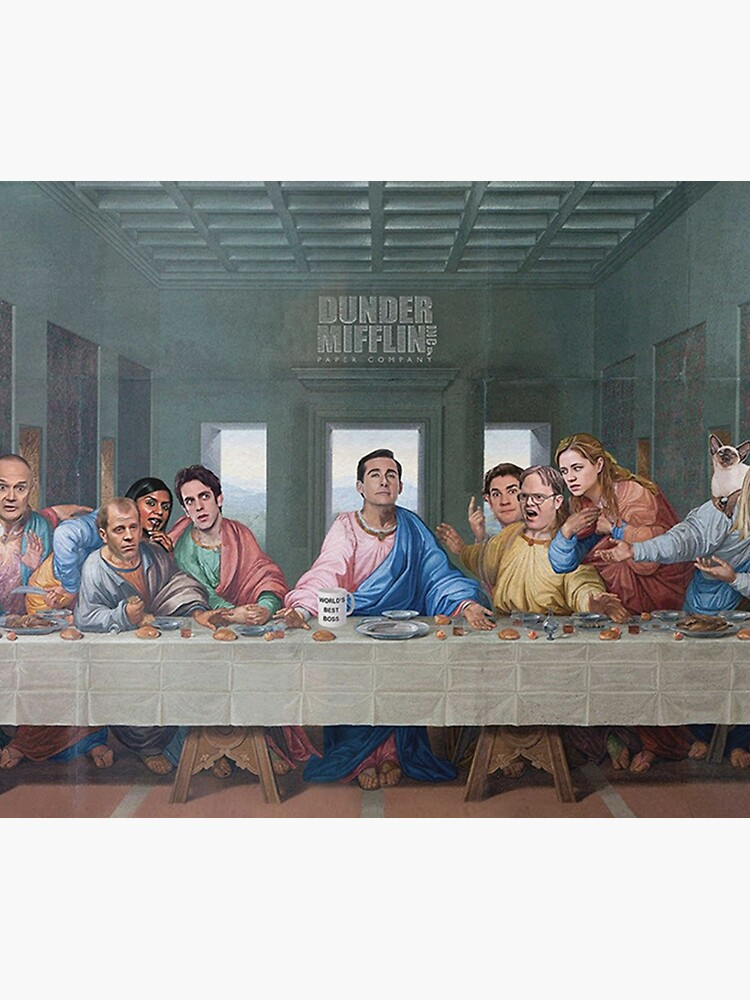 The Last Supper Office Edition by Flakey-