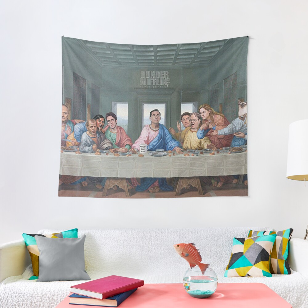 The Last Supper Office Edition Tapestry