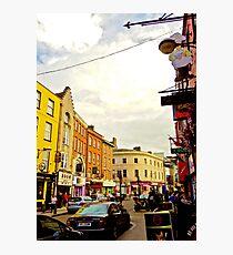 Cork City Street Scene 001  Photographic Print