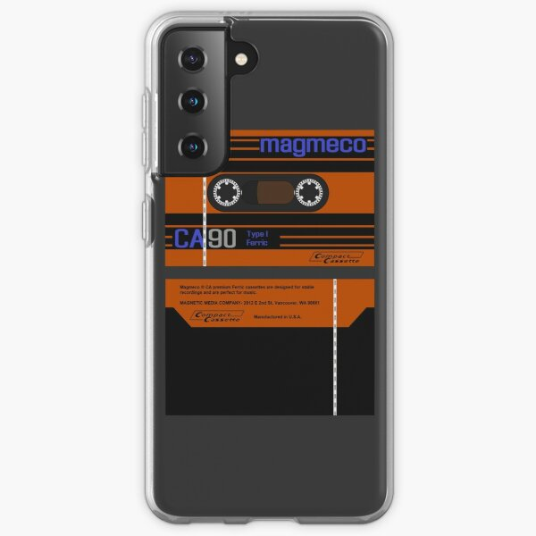 Magmeco CA90 type 1 cassette (front and back) Samsung Galaxy Soft Case