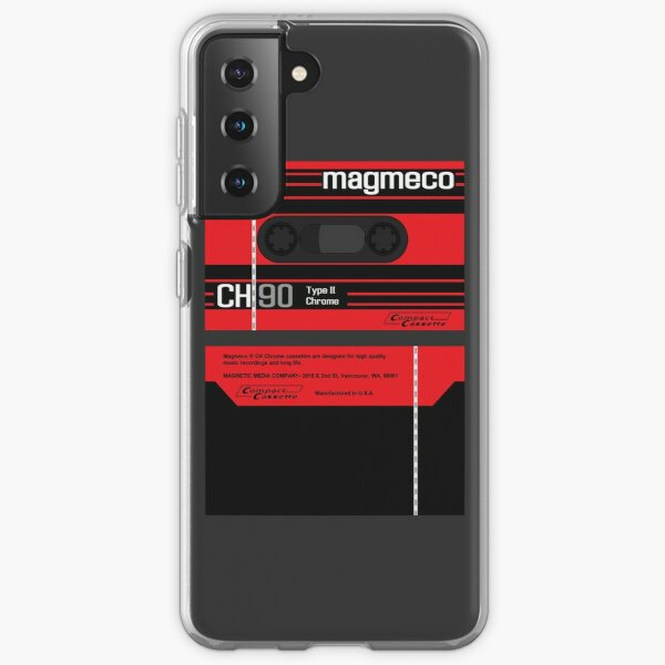 Magmeco CH90 type 2 cassette (front and back) Samsung Galaxy Soft Case