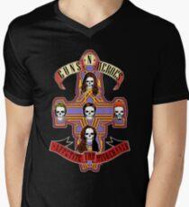 Appetite for Misbehavin' Mens V-Neck T-Shirt