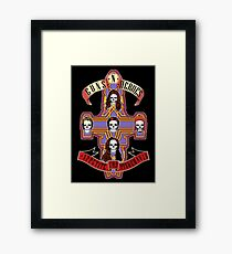Appetite for Misbehavin' Framed Print