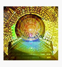 mayan time travel machine Photographic Print