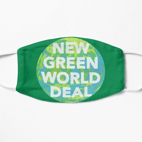Neuer Green World Deal Flache Maske