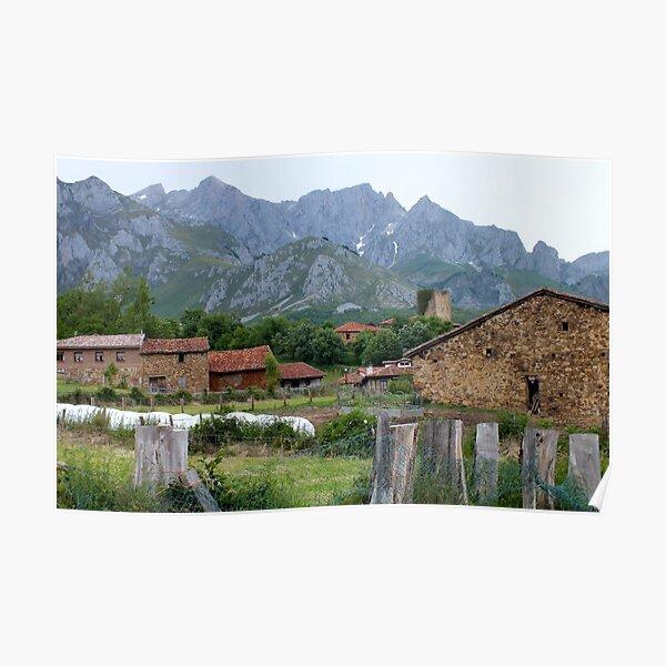 Mogrovejo Village Poster