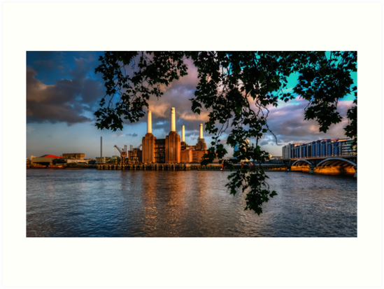 Before Sunset - Battersea power station by mjamil81