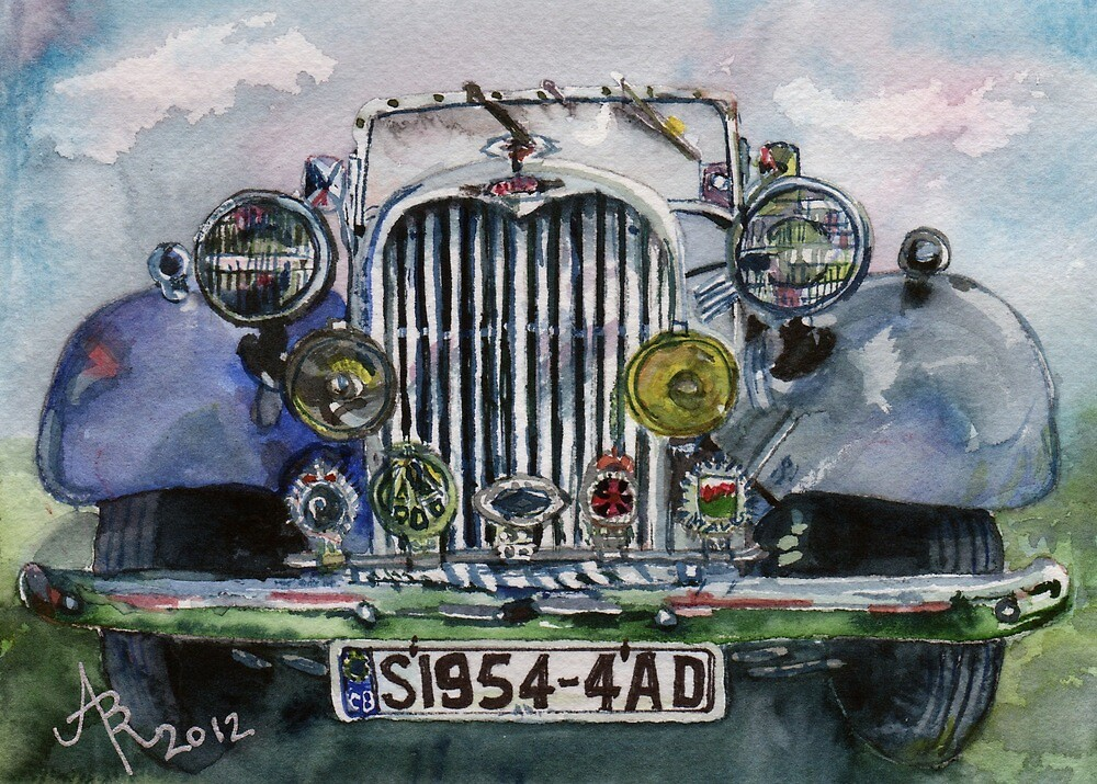 1954 Singer Car 4 ADT Roadster by BAR-ART