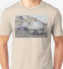Sunrise at the Ger Camp Unisex T-Shirt