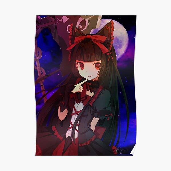 Rory Mercury Anime Girl Poster