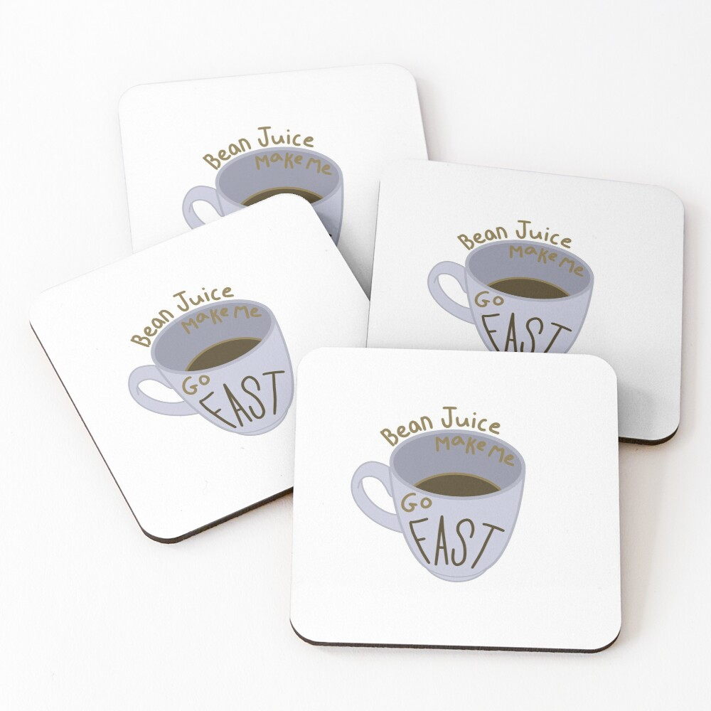 Coffee Mug Coasters (Set of 4)