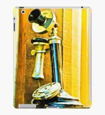 Ring, ring phone old. iPad Case/Skin