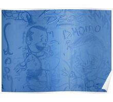 Blue Homo Poster