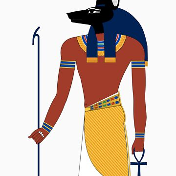 Anubis in Ancient Egypt by brunosprak