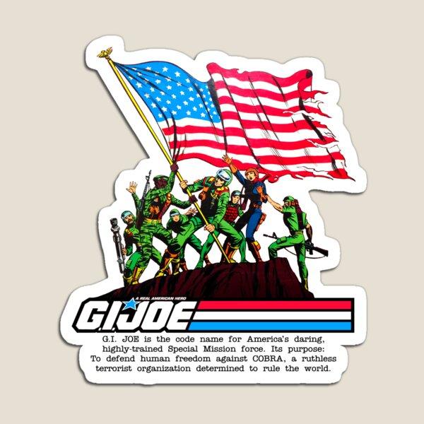 G.I. Joe 1982 - Stars and Stripes Forever Magnet
