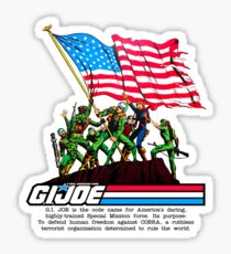 G.I. Joe 1982 - Stars and Stripes Forever Sticker