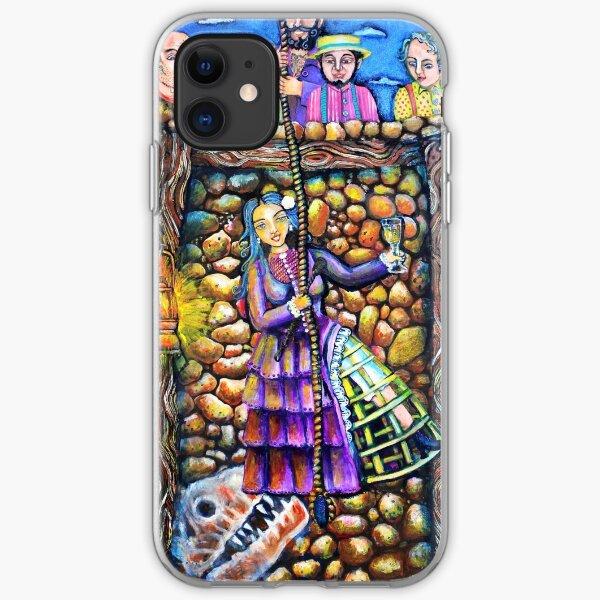 Lola Montez Down The Gold Mine iPhone Soft Case