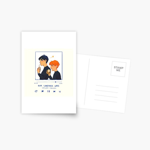 Our Carefree Days : Kagehina | HAIKYUU FANART Postcard