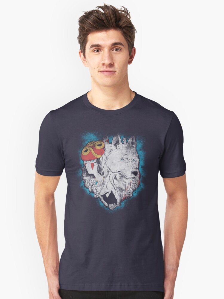The princess and the wolf Unisex T-Shirt Front
