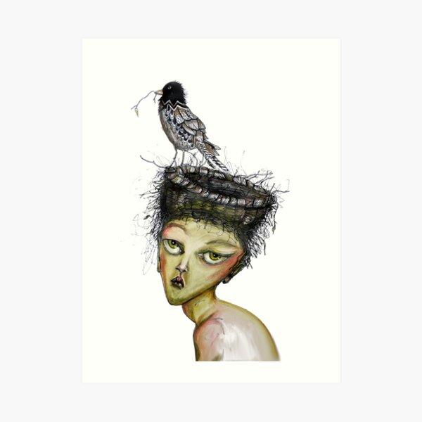 The bird of expectation Art Print