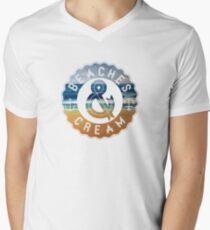 Beaches & Cream Men's V-Neck T-Shirt