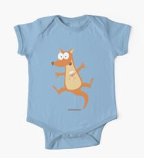 Wacky Kangaroo One Piece - Short Sleeve