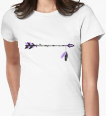 Follow your arrow in life and nobody elses. Womens Fitted T-Shirt