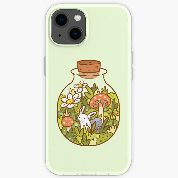 Bunny in a Bottle iPhone Soft Case