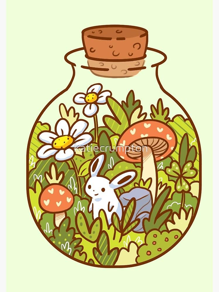 Bunny in a Bottle by katiecrumpton