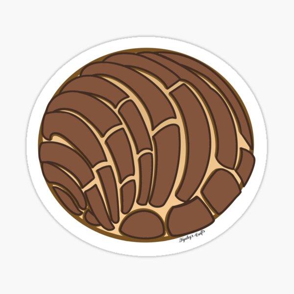 Chocolate Concha Sticker